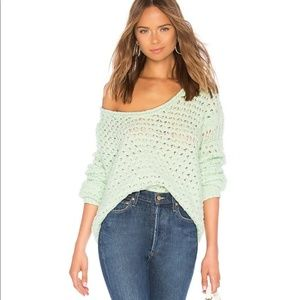 Free People Women's Crashing Waves Pullover Small